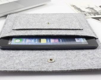 "felt iPad mini 4 sleeve, ipad Air, 9.7"", 10.5"", 12.9"" iPad Pro, Amazon Fire HD 6, Amazon case, Kindle Touch, Paperwhite, Galaxy Tab sleeve"