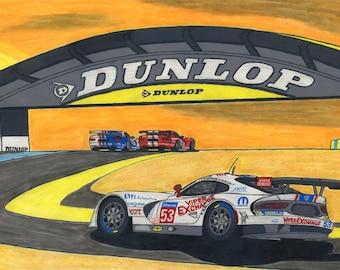Viper Le Mans 2015 Limited Series Print