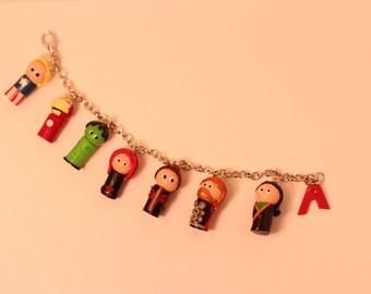 The Avengers Charm Bracelet