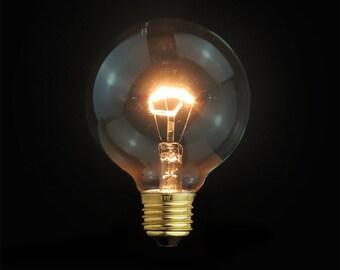 UNIQUE Edison E27 Globe Squirrel-Cage Filament Light Bulb-110V & 220V-S, M, L size - edison light bulb - edison bulb - vintage style