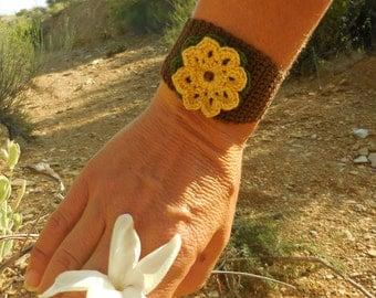 Nested Flower Cuff