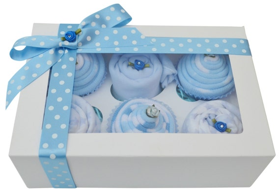 Gorgeous Baby Boys Clothing Cupcake Gift by