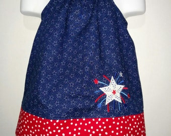 Girls Halter Shirt and Denim Shorts Set 4th Fourth of July Patriotic Military Boutique Outfit! 2 3 4 5 6 7 8 RED WHITE and BLUE