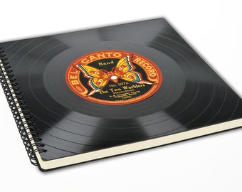 Scrapbook Album made out of a Record | Photo Album | Vinyl Scrapbook | Record Album | Vintage Scrapbook