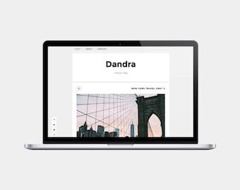 Premade Blogger Template   Dandra