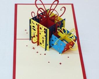 3D Birthday Pop up Card, Birthday Greeting Cards.