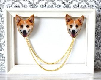 welsh corgi , dog  jewelry