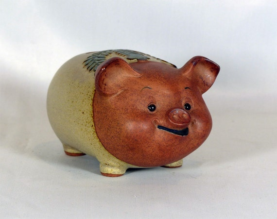 decorative piggy bank