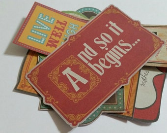 Inspirational Sayings Quote Card Die Cut Outs!