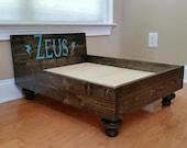Custom Wood Dog Bed
