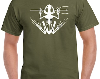 Navy SEAL Frog Skeleton T-Shirt