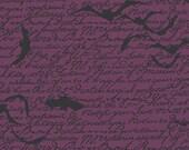 Chillingsworth's Spooky Ride Halloween Fabric Bats 100% Cotton