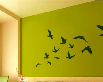 Flying Bird Wall Decals