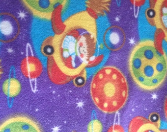 planet fleece fabric etsy