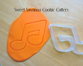 Music Note Cookie Cutter - No1