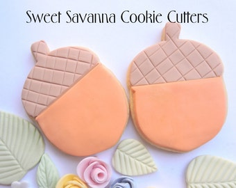 Acorn Cookie Cutter - Great for woodlands theme parties.