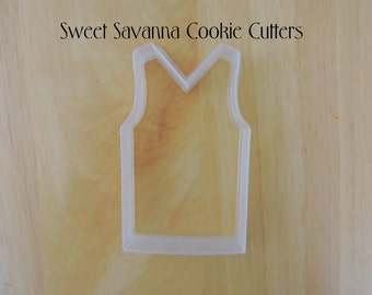 Tunic / Singlet Cookie Cutter - Jersey Cookie Cutter