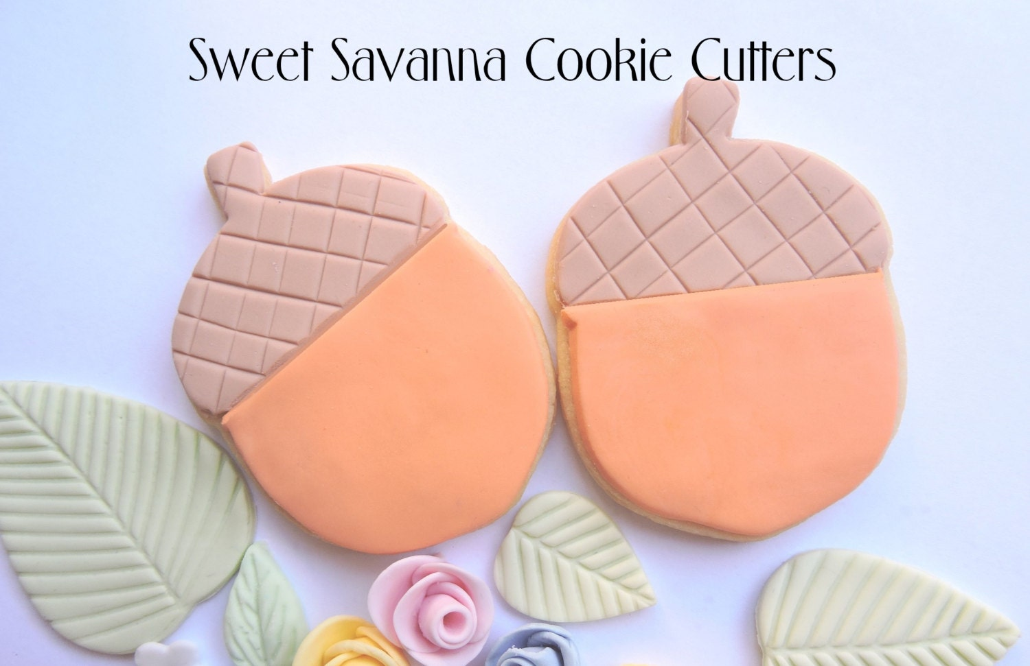 Acorn Cookie Cutter - Great for woodlands theme parties