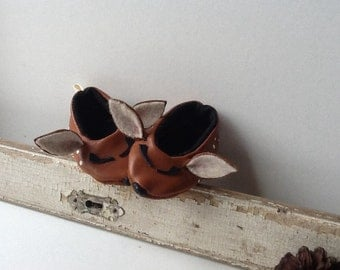 Baby shoes Handmade Leather Woodland Babies Collection