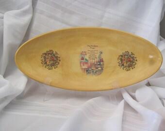 My Mealtime Prayer Bread Platter