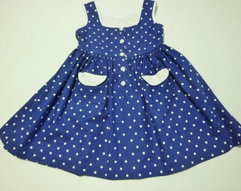 Girls Handmade Sundress, size 4