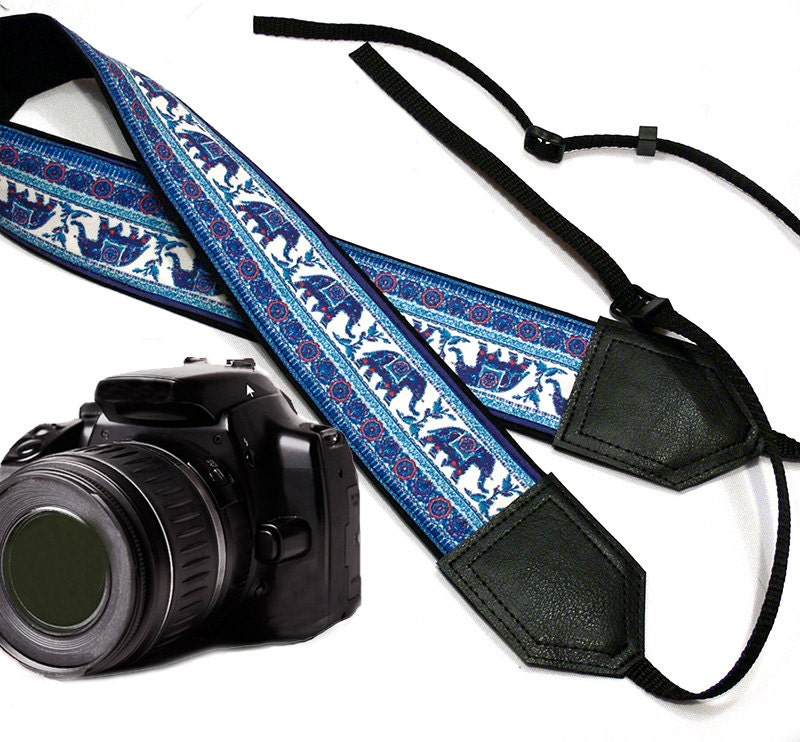Elephant camera strap. Ethnic camera strap. DSLR /SLR Camera - photo#10