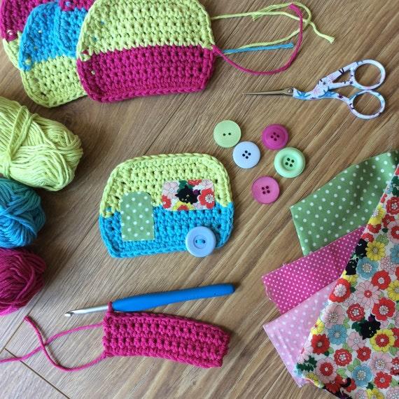 Caravan Knitting Pattern : Pdf Pattern for Crochet Caravan Bunting Dots by FloAndDotShop