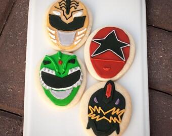 Power Rangers Cookies
