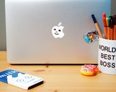 Blur 'The Magic Whip' Ice Cream Eggy Apple Macbook Pro & Air LAPTOP transparent Decal/Sticker