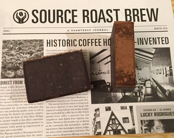 Coffee Bar NEARLY NATURAL - Cold Process Soap with INSIGHT Coffee