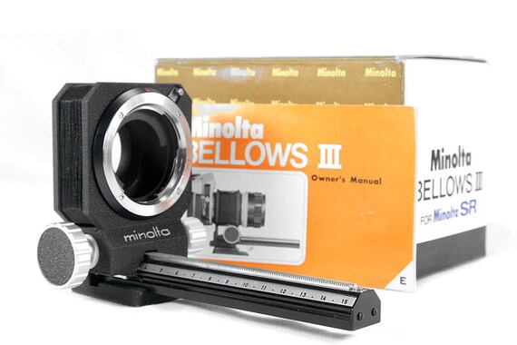 Minolta Iii Bellows Minolta Bellows Iii For