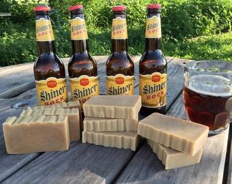 Shiner Bock Beer Soap