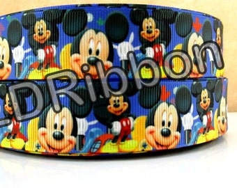 """1"""" Mouse Grosgrain Ribbon"""
