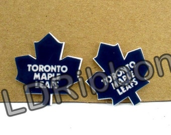 Leafs Inspired Flat Back Resins (Set of 2)