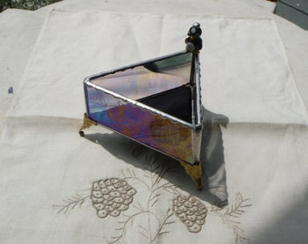 Stained Glass Dresser Box