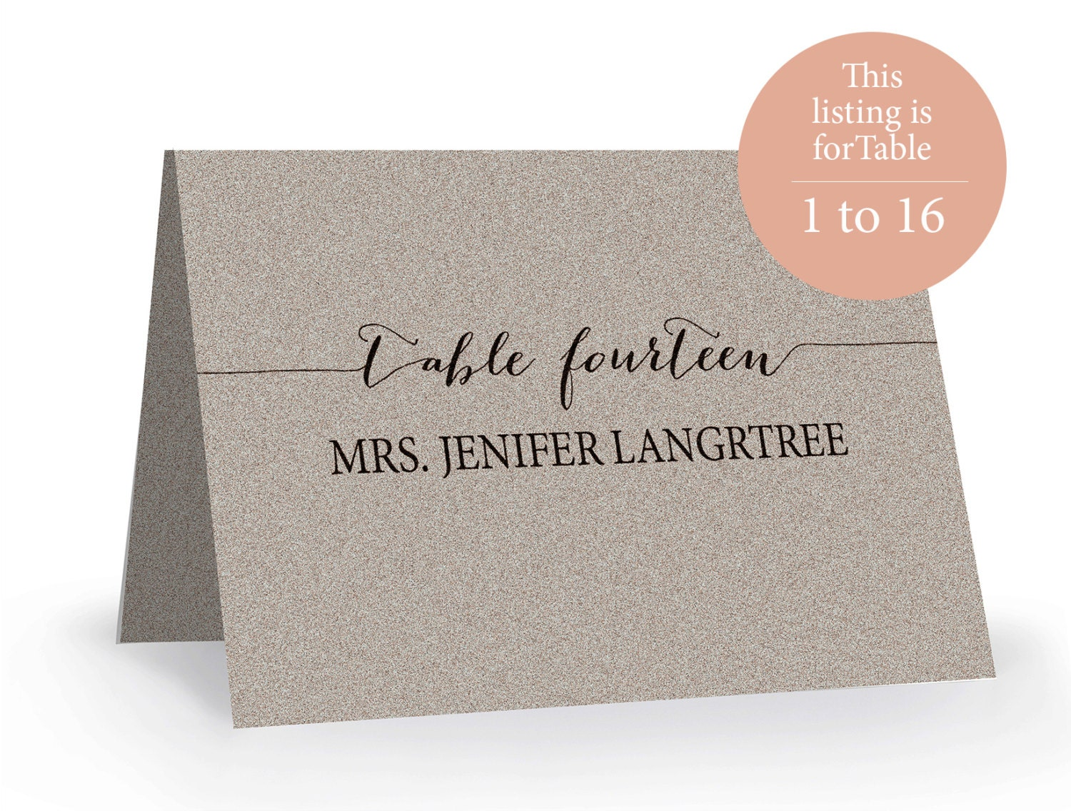 Wedding place card template printable editable escort word for Tent place card template