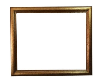 20x24 Shabby chic gold frame -  wall picture frames - ornate mirror