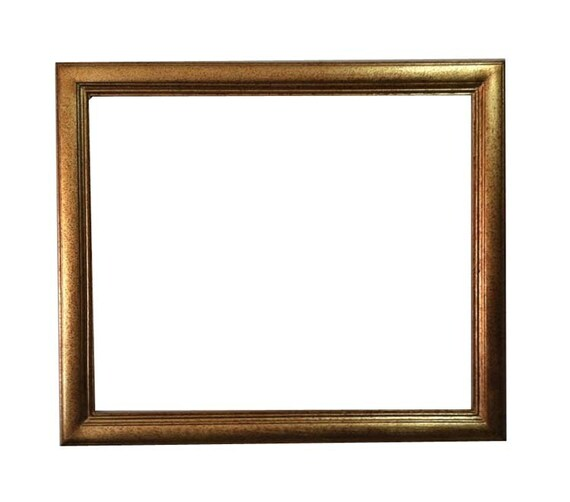 20x24 shabby chic gold frame wall picture frames ornate