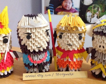 Journey to the west  - 3D Origami