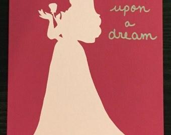 Princess Aurora painting