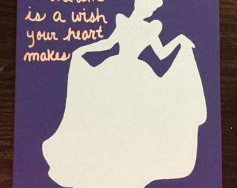 Princess Cinderella painting