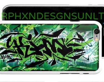 Personalized Graffiti Name iPhone / Samsung Galaxy / Cell Phone Case