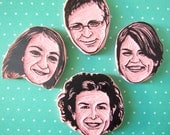 Family FACE portraits, friends face portrait, custom rubber stamps, hand carved, personalized stamps, special gift idea, wedding idea