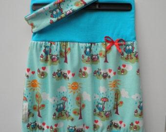 Balloon skirt - HU from 60 cm + reversible Hairband