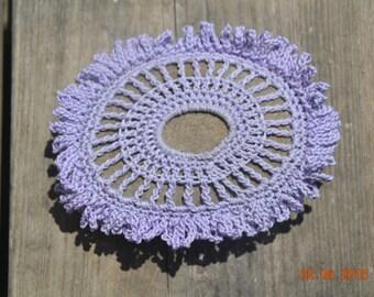 Mercerized cotton crocheted let GA