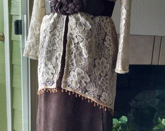 Edwardian Titanic Downton Abbey Victorian restyled ensemble dress