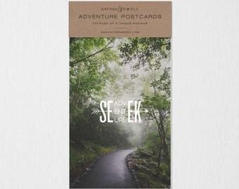 Adventure Postcard Set #1