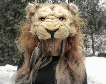 Lion Headdress (Animal friendly version)