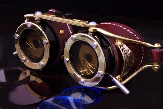 Steampunk Goggles Dual Iris aperture by AccuviewPrecision ...