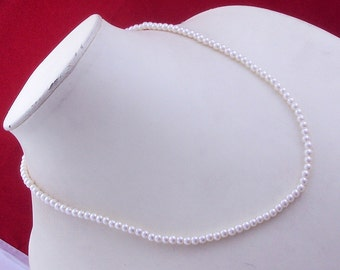 free shippings  ms-2 Pearl .925 Silver Handmade Beaded Necklace Jewlery
